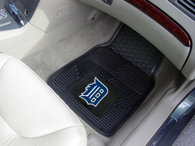 Detroit Tigers 2 Piece Heavy Duty Vinyl Car Mats