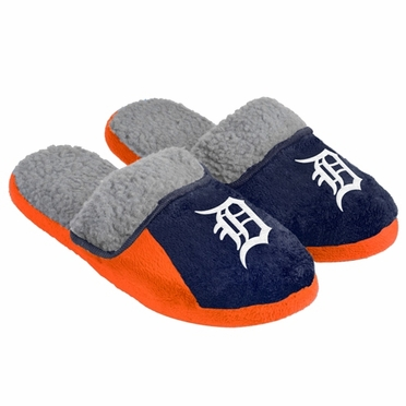 Detroit Tigers 2012 Sherpa Slide Slippers