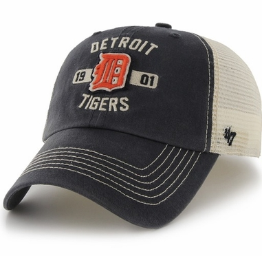 Detroit Tigers 47 Brand Underhill Mesh Back Stretch Fit Hat