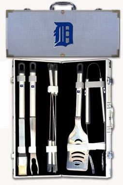 Detroit Tigers 8pc. BBQ Set w/Case