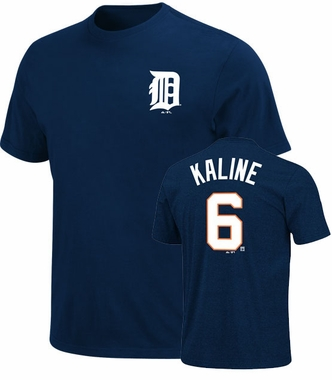 Detroit Tigers Al Kaline Name and Number T-Shirt