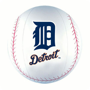Detroit Tigers Beach Ball