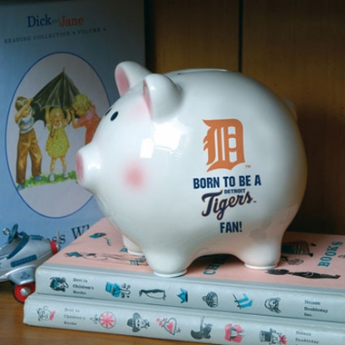 Detroit Tigers (Born to Be) Piggy Bank