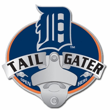 Detroit Tigers Bottle Opener Hitch Cover