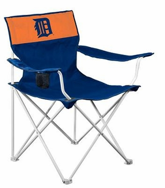 Detroit Tigers Canvas Adult Folding Logo Chair