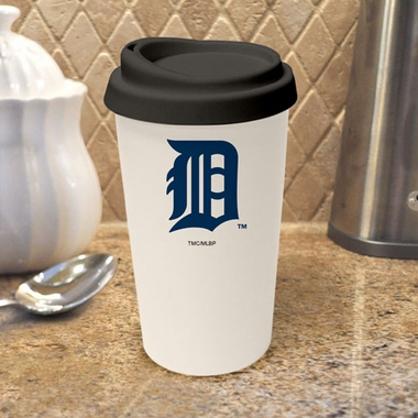 Detroit Tigers Ceramic Travel Cup