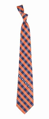 Detroit Tigers Check Poly Necktie