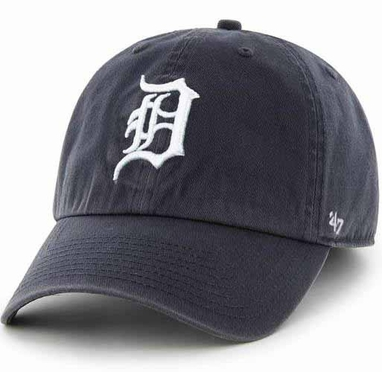 Detroit Tigers Clean Up Adjustable Hat - Navy