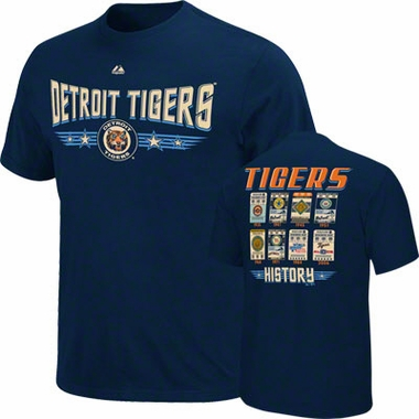 Detroit Tigers Cooperstown Tickets T-Shirt