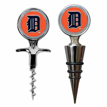 Detroit Tigers Corkscrew and Stopper Gift Set