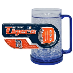 Detroit Tigers Crystal Freezer Mug