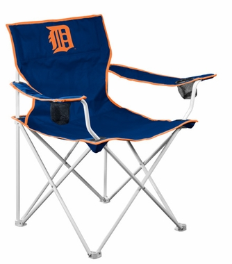 Detroit Tigers Deluxe Adult Folding Logo Chair