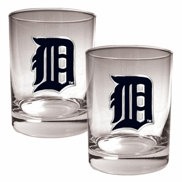 Detroit Tigers Double Rocks Set