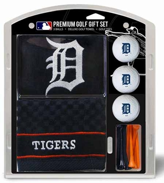 Detroit Tigers Embroidered Towel Gift Set