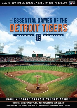 Detroit Tigers Essential Games DVD