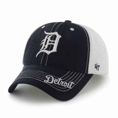 Detroit Tigers Flux Structured Adjustable Mesh Hat