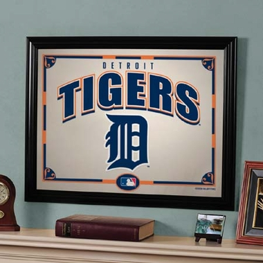 Detroit Tigers Framed Mirror