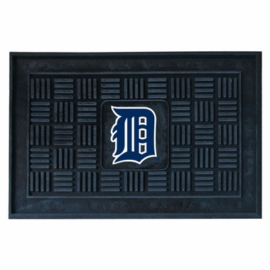 Detroit Tigers Heavy Duty Vinyl Doormat