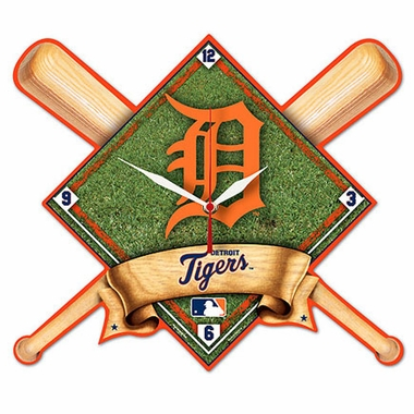 Detroit Tigers High Definition Wall Clock