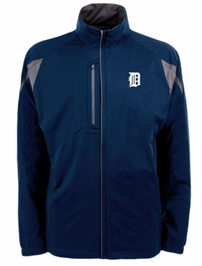 Detroit Tigers Mens Highland Water Resistant Jacket (Team Color: Navy)