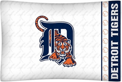 Detroit Tigers Individual Pillowcase