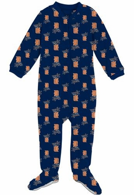 Detroit Tigers Infant Footed Coverall Sleeper