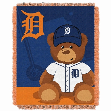 Detroit Tigers Jacquard BABY Throw Blanket