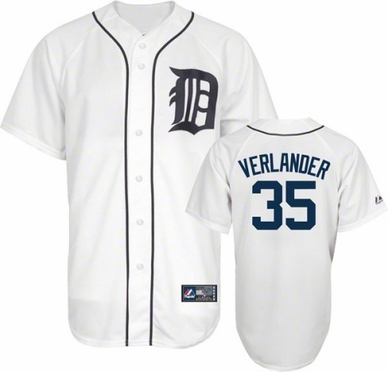 Detroit Tigers Justin Verlander Replica Player Jersey