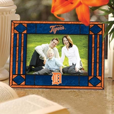 Detroit Tigers Landscape Art Glass Picture Frame