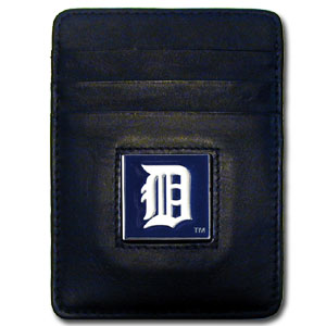 Detroit Tigers Leather Money Clip (F)