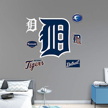 Detroit Tigers Logo (Olde English) Fathead Wall Graphic