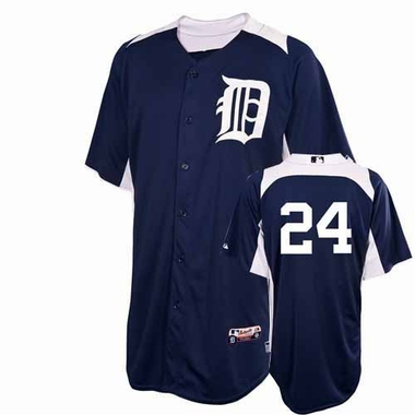Detroit Tigers Miguel Cabrera YOUTH Cool Base Batting Practice Jersey