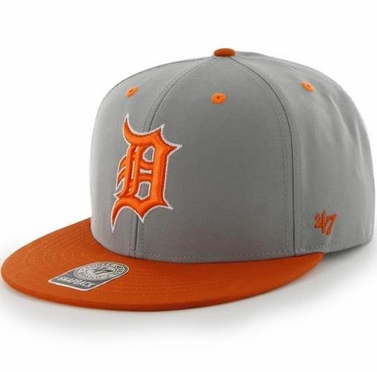 Detroit Tigers MLB 47 Brand Two Tone Maxim Neon Snap Back Hat