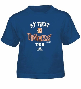 Detroit Tigers My First Tee Toddler Shirt