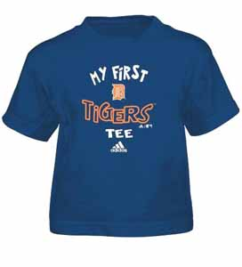 Detroit Tigers My First Tee Toddler Shirt - 3T