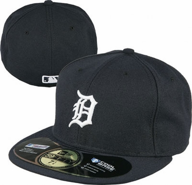 Detroit Tigers New Era 59Fifty Authentic Exact Fit Baseball Cap