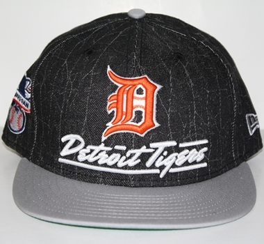 Detroit Tigers New Era 9FIFTY Lightning Strike Snapback Hat