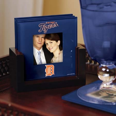 Detroit Tigers Photo Coaster Set