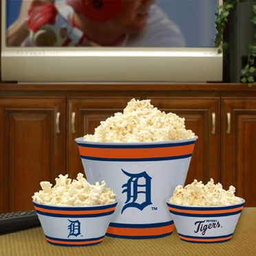 Detroit Tigers Plastic Serving Set