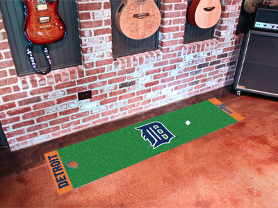 Detroit Tigers Putting Green Mat