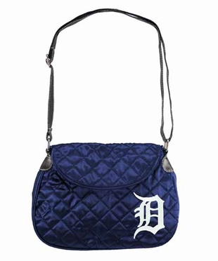 Detroit Tigers Quilted Saddlebag