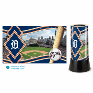 Detroit Tigers Rotating Lamp