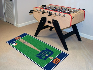 Detroit Tigers Runner Rug