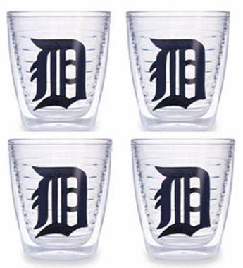 Detroit Tigers Set of FOUR 12 oz. Tervis Tumblers