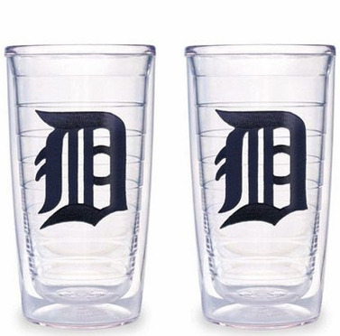 Detroit Tigers Set of TWO 16 oz. Tervis Tumblers