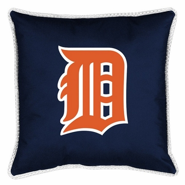 Detroit Tigers SIDELINES Jersey Material Toss Pillow