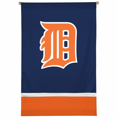 Detroit Tigers SIDELINES Jersey Material Wallhanging