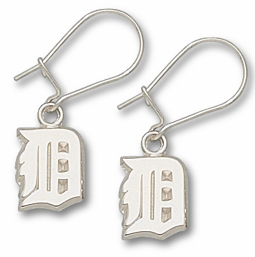 Detroit Tigers Sterling Silver Post or Dangle Earrings