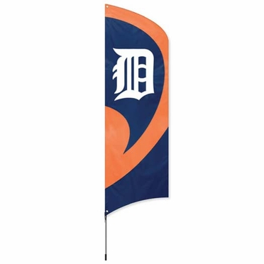 Detroit Tigers Tall Team Flag