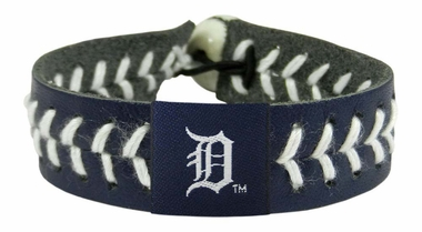 Detroit Tigers Team Color Baseball Bracelet